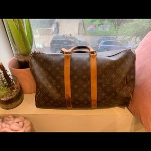 Authentic Louis Vuitton Keepall